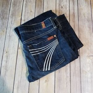 7 For All Mankind Dojo Jeans 31 x 34